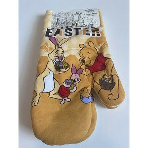 Easter Winnie the Pooh Oven Mitts 2 Piglet, Kitche
